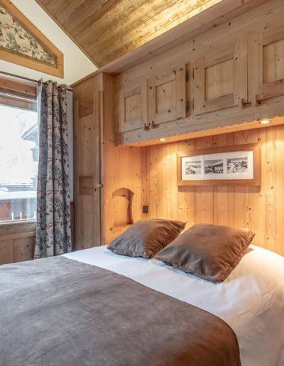 chambre décoration en bois