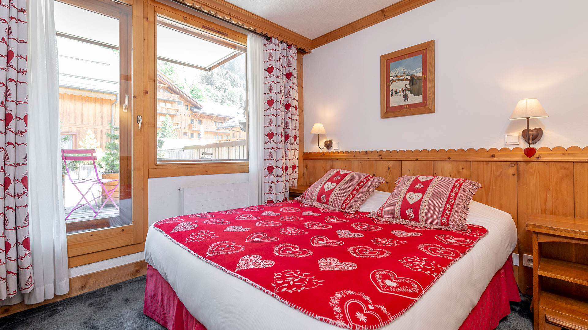 chambre cocooning week end montagne savoie