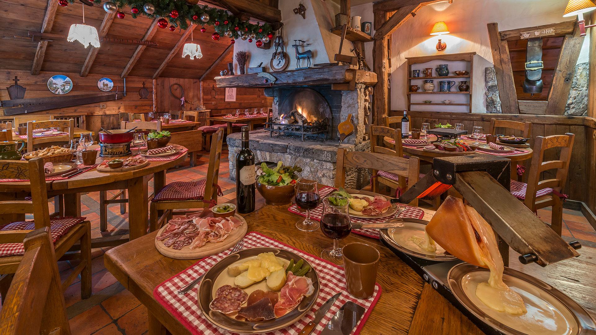 Restaurant de raclette 3 vallées