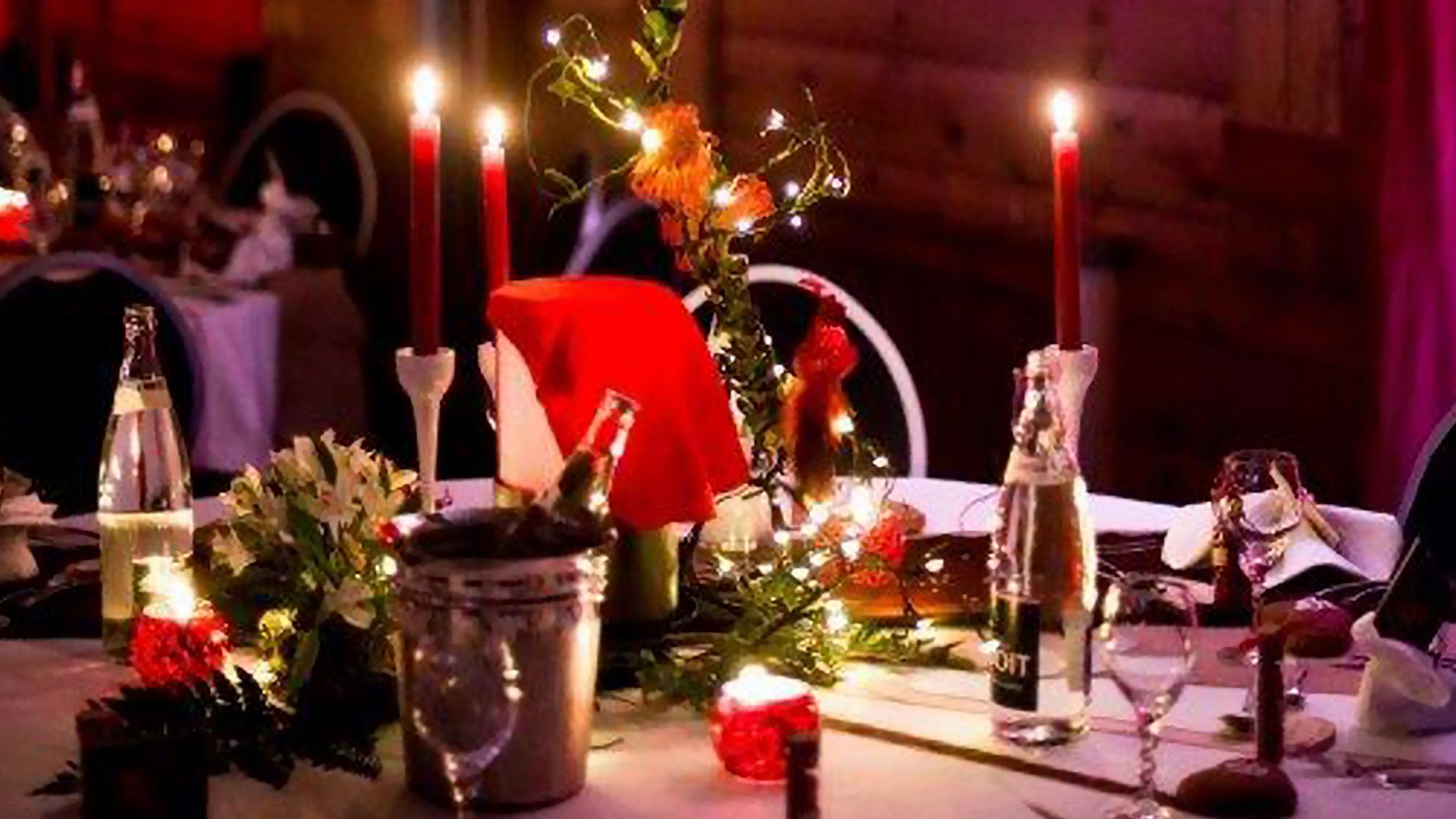 table de mariage hôtel spa Savoie