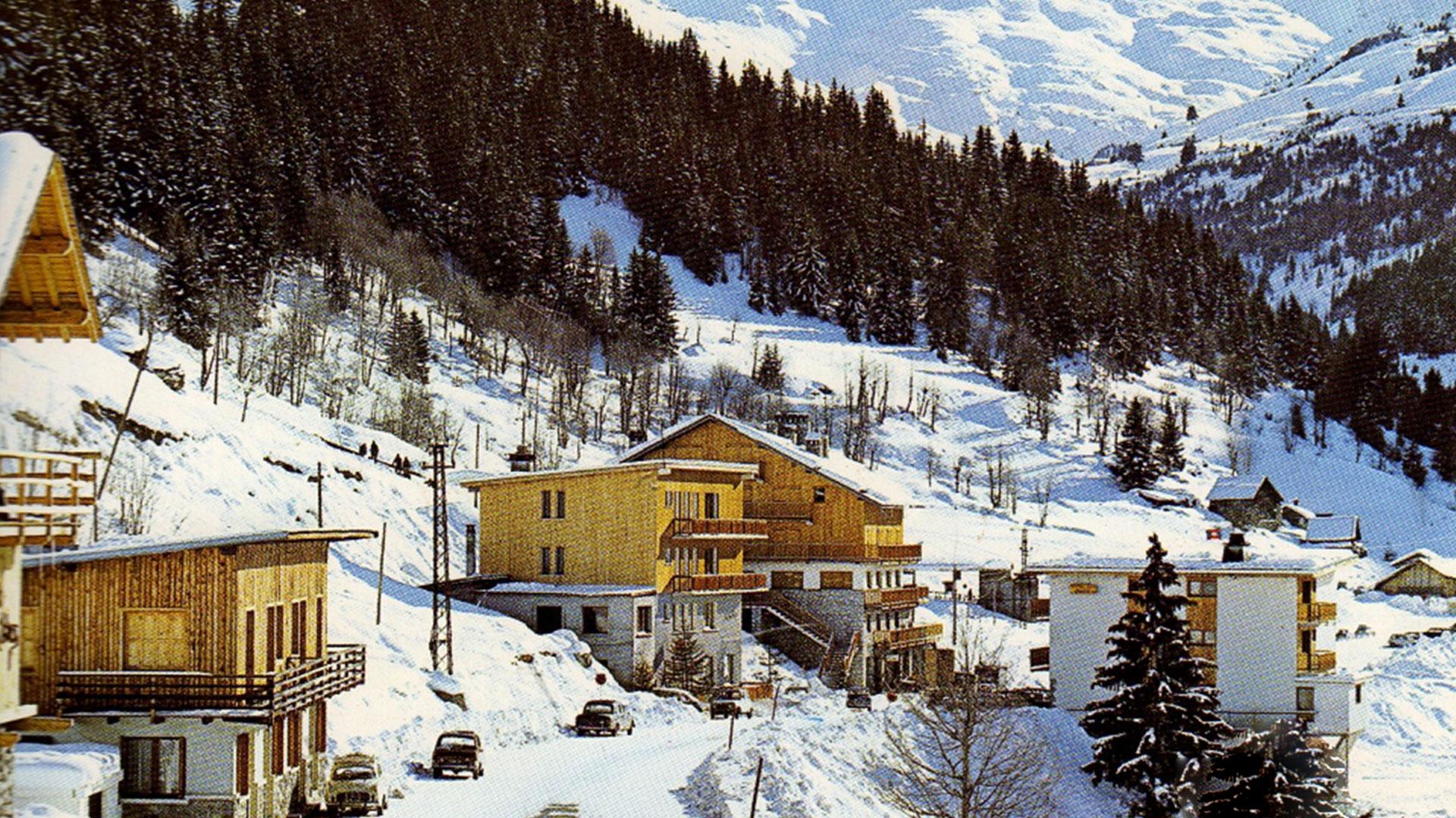 paysage enneigé hotel 3 etoiles alpes